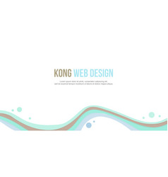 Abstract background header website collection vector