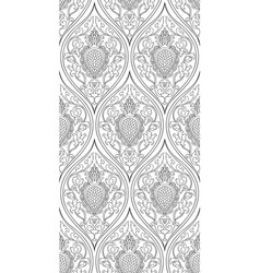 Filigree pattern with damask vector
