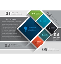Layout template design brochure flyer magazine cov vector