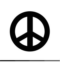 Peace symbol icon design vector