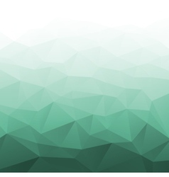 Abstract Gradient Green Geometric Background vector image vector image