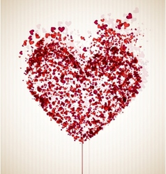 Vulnerable heart vector image vector image