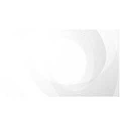 abstract white and gray gradient background vector image