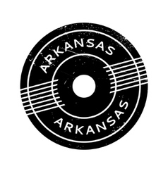 Arkansas rubber stamp vector image