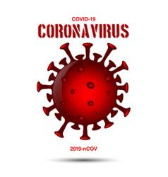 Corona virus covid-19 2019-ncov template design vector