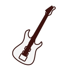 Guitar icon image vector