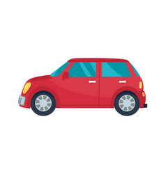 Hatchback automobile icon vector