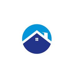 house logo template vector image