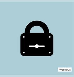 lock icon lock icon eps10 lock icon lock icon vector image