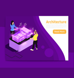 People and interfaces glow isometric composition vector