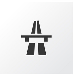 Start motorway icon symbol premium quality vector