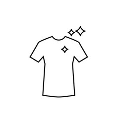 t shirt icon design template isolated vector image