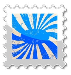 Abstract grunge stamp vector