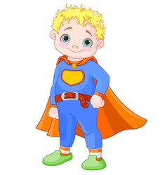 Super Boy vector image