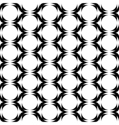 Design seamless monochrome vertical zigzag pattern vector image
