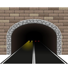 Road tunnel 04 vector