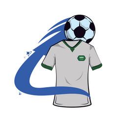 Saudi arabia soccer tshirt vector
