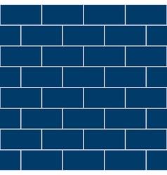 Snorkel Blue Brick Wall vector