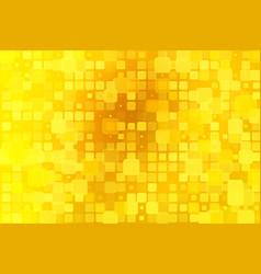 bright golden yellow glowing various tiles vector image