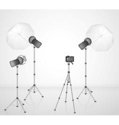 Photo studio vector image