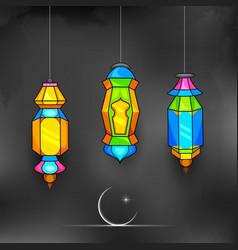 Ramadan Kareem Generous Ramadan background vector image vector image