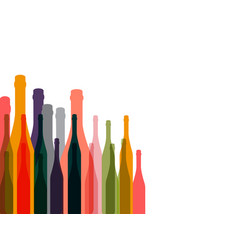 wine background color vector image