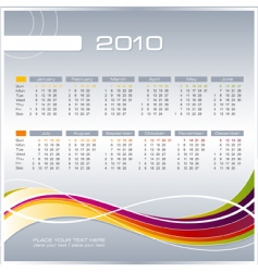Business calendar vector