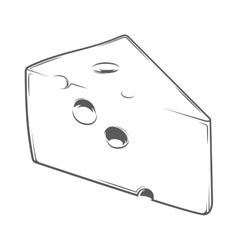 Cheese Chunk vector