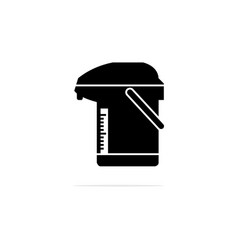electric kettle icon concept for vector image