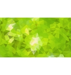 Emerald Forest Abstract Background vector image