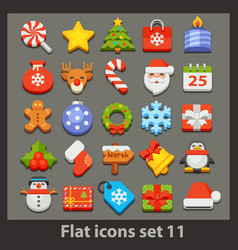 Flat icon-set 11 vector