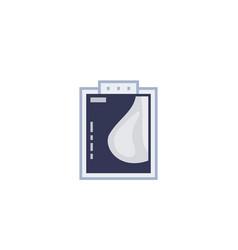 mammogram scan icon vector image