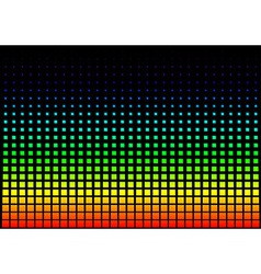 Squared Rainbow Background vector