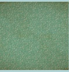 florad old wallpaper vector image
