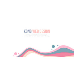 Header website abstract pink wave vector