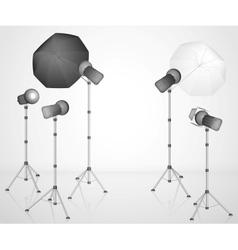 The photo studio vector image vector image