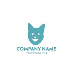 cat logo-16 vector image vector image