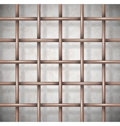 Background the cage vector image