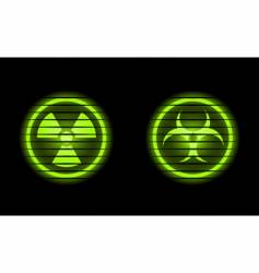 two industrial icons vector image