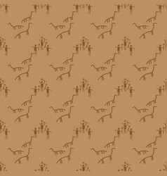 old paper texture manuscript seamless pattern vector image