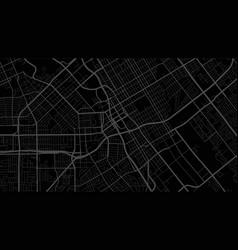 Black and dark grey san jose city area background vector
