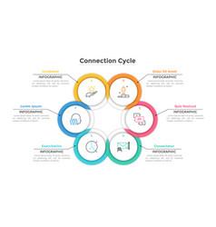 Modern creative inforaphic template vector