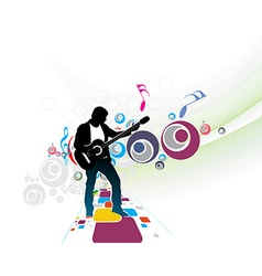 music men vector image
