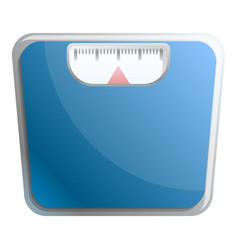 Weight scales icon cartoon style vector
