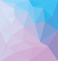 Abstract colorful low poly background vector image vector image