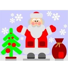 Santa Claus color 03 vector image