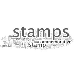 Bws what are different types stamps vector