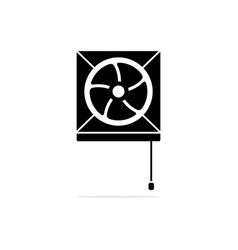 exhaust fan icon concept for design vector image