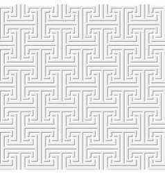 Seamless geometric key pattern vector image