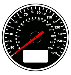 Speedometer vector image